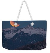 Lunar Eclipse In Lofoten Weekender Tote Bag