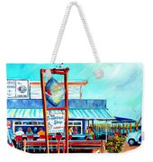 Lunch At The Clam Bar Weekender Tote Bag