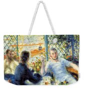 Lunch At The Restaurant Fournaise, The Rower's Lunch Weekender Tote Bag