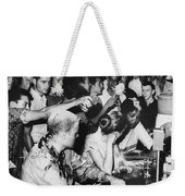 Lunch Counter Sit-in, 1963 Weekender Tote Bag by Granger
