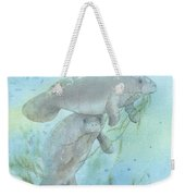 Lunch Crowd Weekender Tote Bag