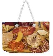 Lunch Fraschetta Weekender Tote Bag