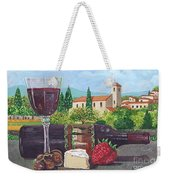 Lunch In Provence Weekender Tote Bag