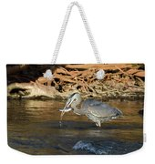 Lunch On The Neuse River Weekender Tote Bag by George Randy Bass