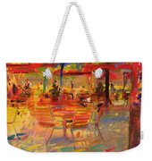 Lunch On The Terrace Weekender Tote Bag