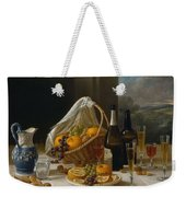 Luncheon Still Life, At And By John F. Francis Weekender Tote Bag