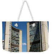 Lunchtime At Nathan Philips Square Toronto City Hall Weekender Tote Bag