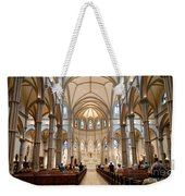 Lunchtime Mass At Saint Paul Cathedral Pittsburgh Pa Weekender Tote Bag