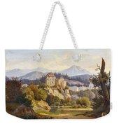Lunde, Anders Christian Copenhagen 1809 - 1886 Grotta Ferrata. Oil On Canvas. Relined Weekender Tote Bag