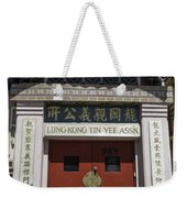 Lung Kong Tin Yee Association Red Doors Weekender Tote Bag
