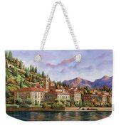 lungolago di Bellagio Weekender Tote Bag