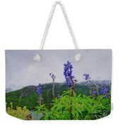 Lupine And Mountains Weekender Tote Bag