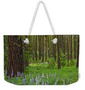Lupine Carpet Weekender Tote Bag