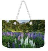 Lupine In The Valley Weekender Tote Bag