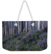 Lupine On Mt. Washburn - Yellowstone Weekender Tote Bag