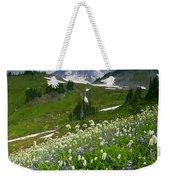 Lupine Storm Weekender Tote Bag