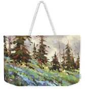 Lupines And Bluebells Weekender Tote Bag
