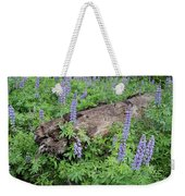 Lupines And Windfall Weekender Tote Bag