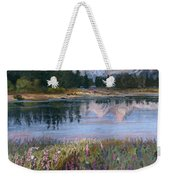 Lupines At Pilgrim Creek Weekender Tote Bag