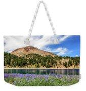 Lupines Lake And Lassen Weekender Tote Bag