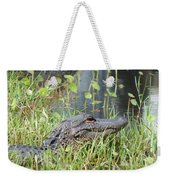 Lurking In The Grass Weekender Tote Bag