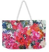 Luscious Bougainvillea Weekender Tote Bag by Michelle Abrams