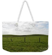 Lush Green Grass On The Cliffs Of Moher Weekender Tote Bag