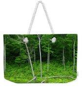 Lush Green Pond Weekender Tote Bag