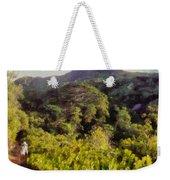Lush Greenery While Trekking Weekender Tote Bag
