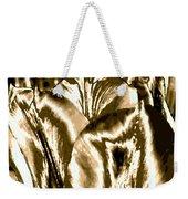 Lustrous Golden Tulip Weekender Tote Bag