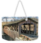 Luther Mills Bridge Weekender Tote Bag