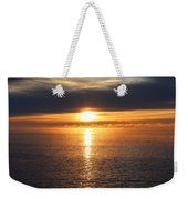 Lutsen Shore Sunrise Two Weekender Tote Bag