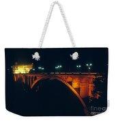 Luxembourg Bridge Weekender Tote Bag