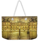 Luxembourg Palace Paris Weekender Tote Bag