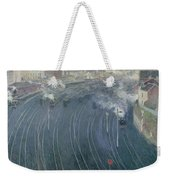 Luxembourg Station Weekender Tote Bag by Henri Ottmann