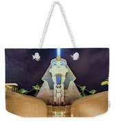Luxor Casino Egyptian Sphinx Las Vegas Night Weekender Tote Bag