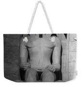 Luxor Interior 3 B W Weekender Tote Bag