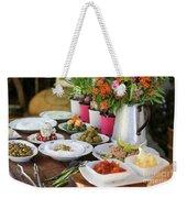 Luxurious Breakfast Buffet  Weekender Tote Bag