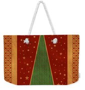 Luxurious Christmas Card Weekender Tote Bag