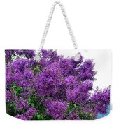 Luxurious Lilacs Weekender Tote Bag
