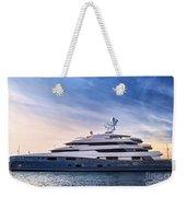 Luxury Yacht Weekender Tote Bag