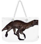 Lycaenops Dinosaur Walking, White Weekender Tote Bag