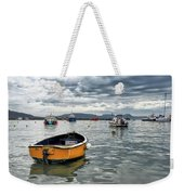Lyme Regis Harbour - March Weekender Tote Bag