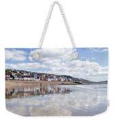 Lyme Regis Seafront Weekender Tote Bag