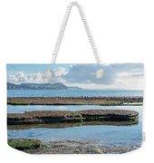 Lyme Regis Seascape 2 - October Weekender Tote Bag
