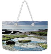 Lyme Regis Seascape 4 - October Weekender Tote Bag