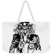 Lyndon Johnson: Cartoon Weekender Tote Bag