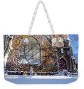 Lynn Central Congregational Church Lynn Ma Winter Weekender Tote Bag