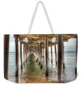 Lynnhaven Fishing Pier, Pillars To The Sea Weekender Tote Bag