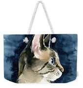 Lynx Point Cat Portrait Weekender Tote Bag